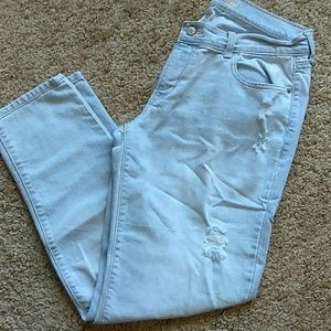 Light blue Old Navy boyfriend jeans